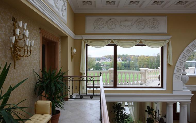 Загородный дом. холл из проекта , фото №18631