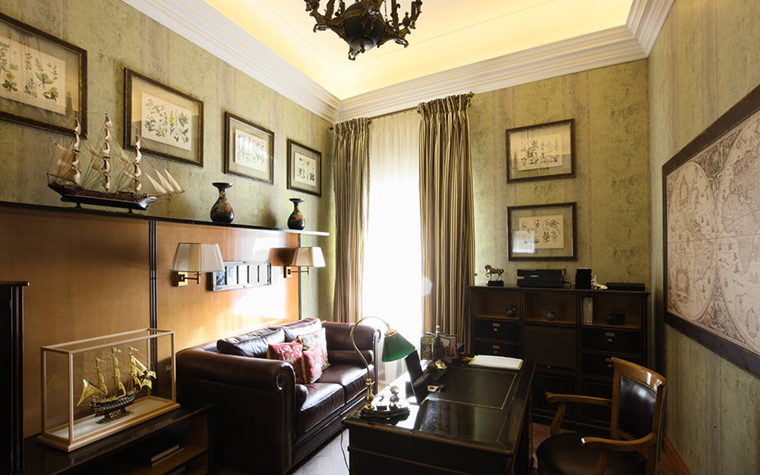 интерьер кабинета - фото № 18619