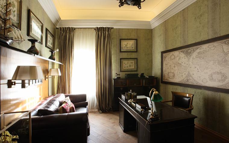 интерьер кабинета - фото № 18620