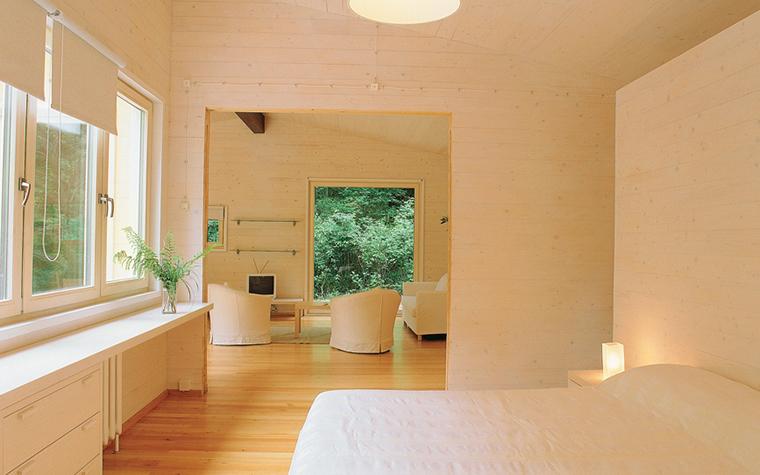 Загородный дом. спальня из проекта , фото №27054