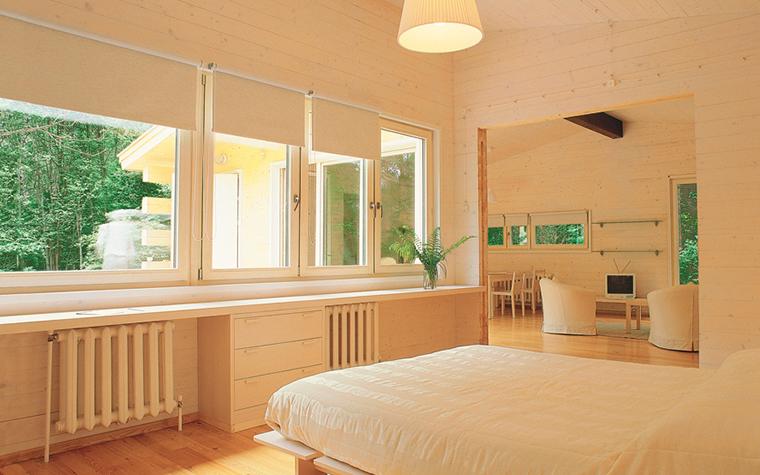 Загородный дом. спальня из проекта , фото №27055
