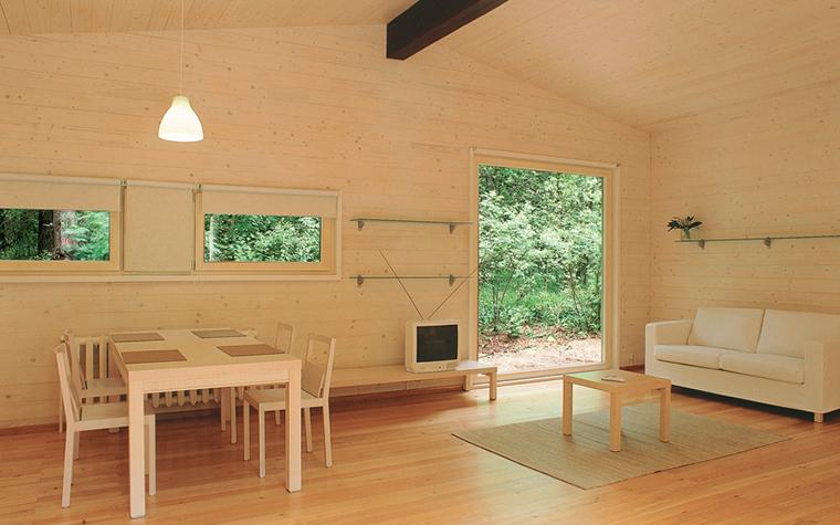 Загородный дом. гостиная из проекта , фото №27053