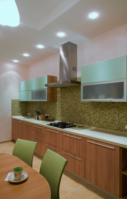 Фото № 20651 кухня  Загородный дом