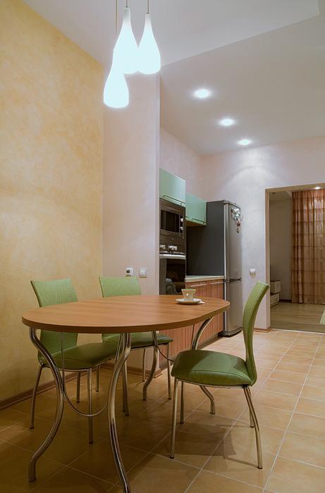Фото № 20652 кухня  Загородный дом