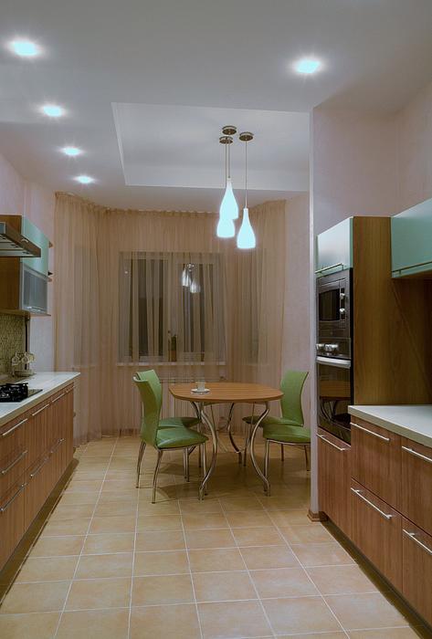 Фото № 20653 кухня  Загородный дом