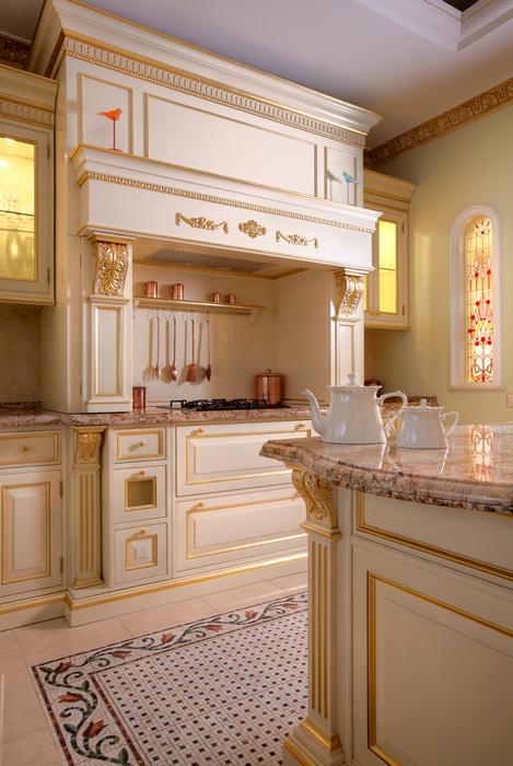 Фото № 20716 кухня  Загородный дом
