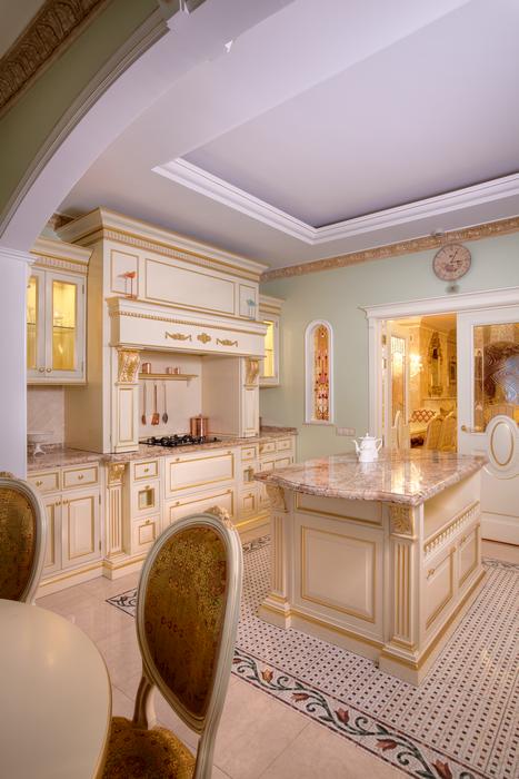 Фото № 20717 кухня  Загородный дом