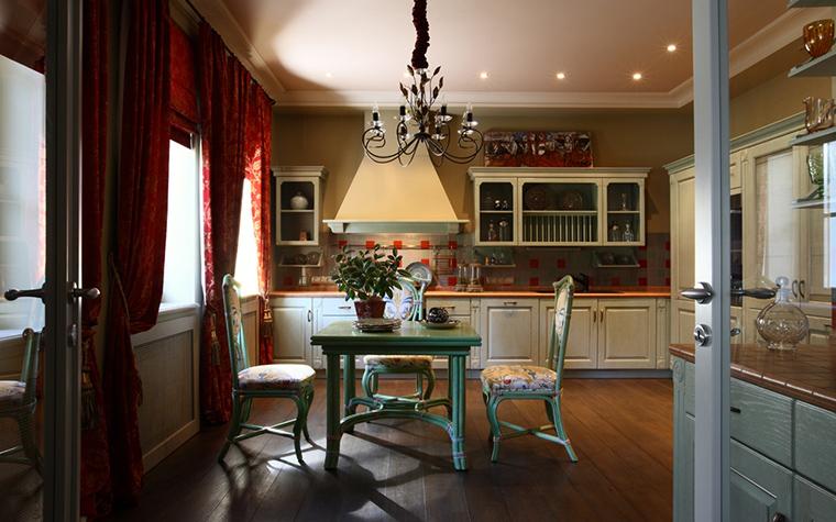 Загородный дом. кухня из проекта , фото №20944