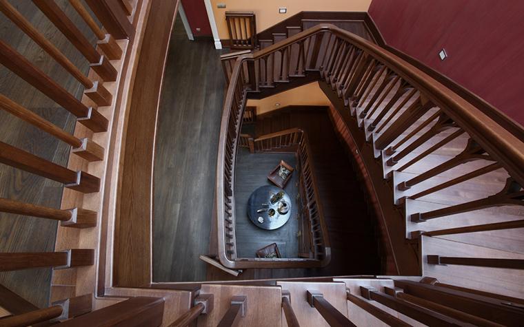Загородный дом. холл из проекта , фото №20951