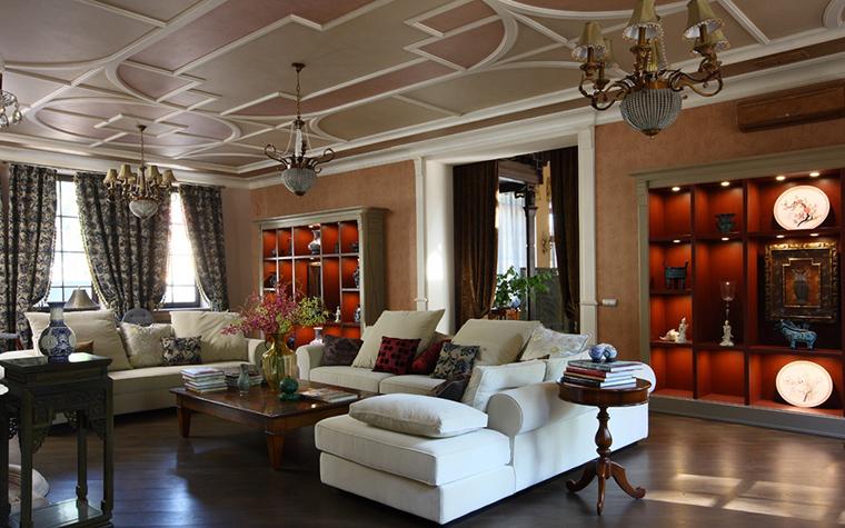 интерьер гостиной - фото № 22542