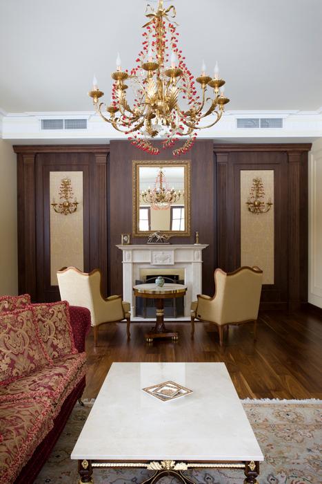 интерьер гостиной - фото № 21084