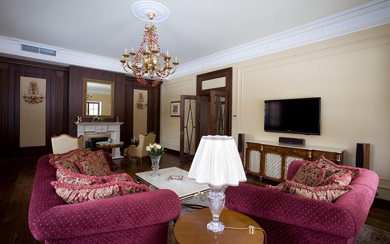 интерьер гостиной - фото № 21085