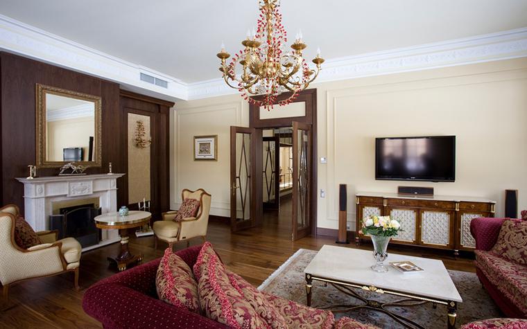 интерьер гостиной - фото № 21086