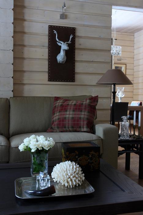 интерьер гостиной - фото № 21211