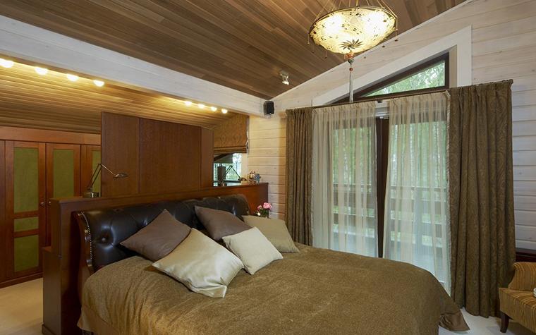 Загородный дом. спальня из проекта , фото №21226