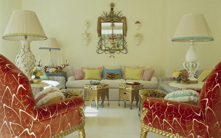 интерьер гостиной - фото № 21453
