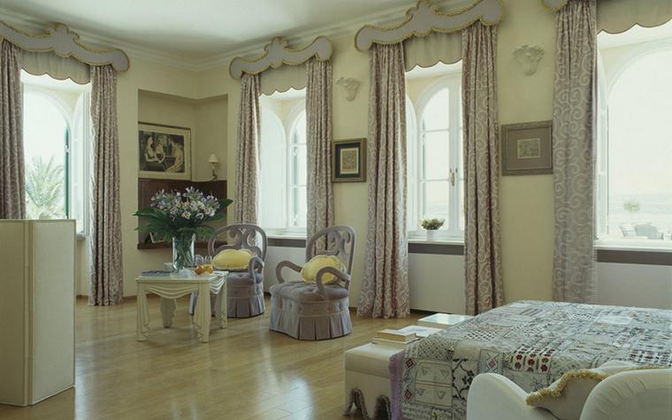 интерьер спальни - фото № 21456