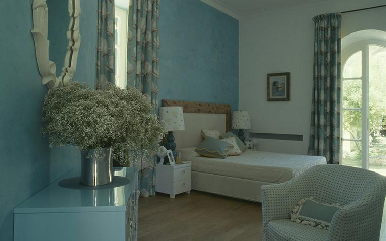 Загородный дом. спальня из проекта , фото №21459