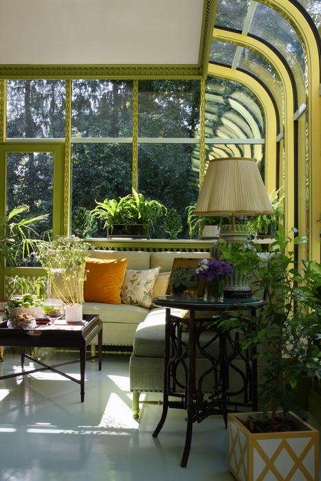 Дизайн зимнего сада в доме