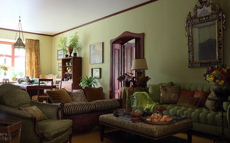 Фото № 21571 гостиная  Загородный дом