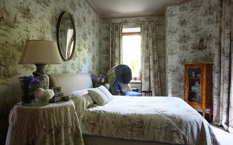 Фото № 21570 спальня  Загородный дом
