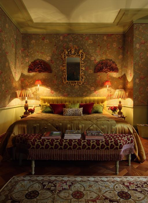 Фото № 21567 спальня  Загородный дом