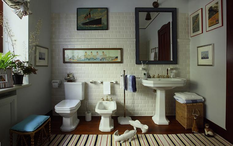 Фото № 21578 ванная  Загородный дом