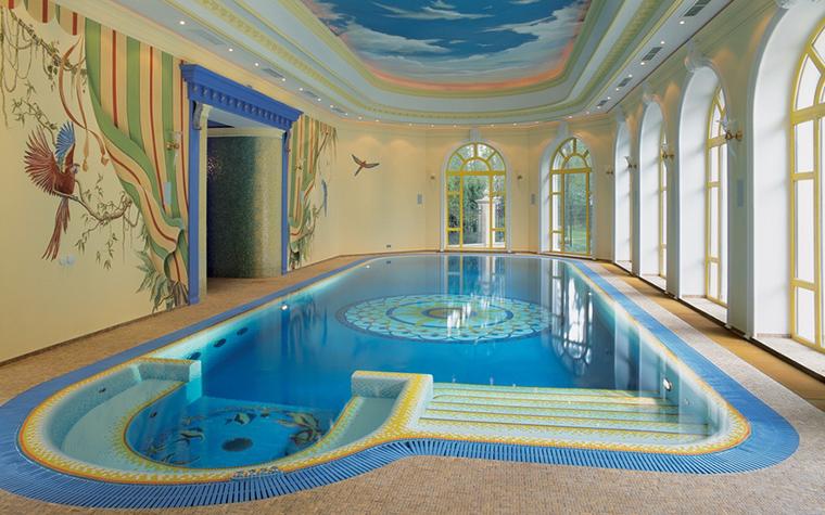 интерьер бассейна - фото № 21633