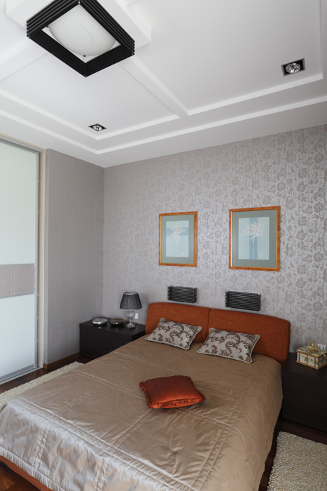 интерьер спальни - фото № 21642