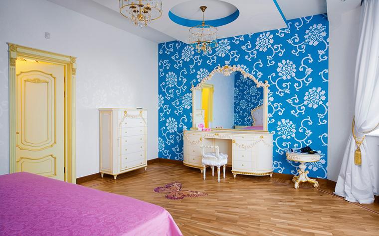 Фото № 21689 спальня  Загородный дом