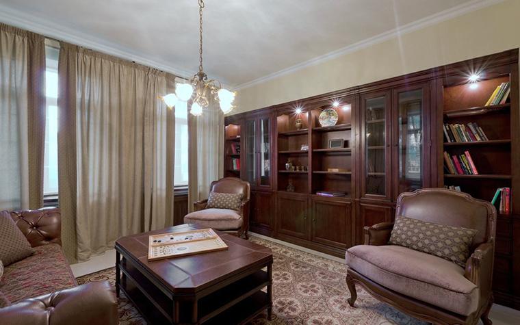 Фото № 21734 кабинет библиотека  Загородный дом