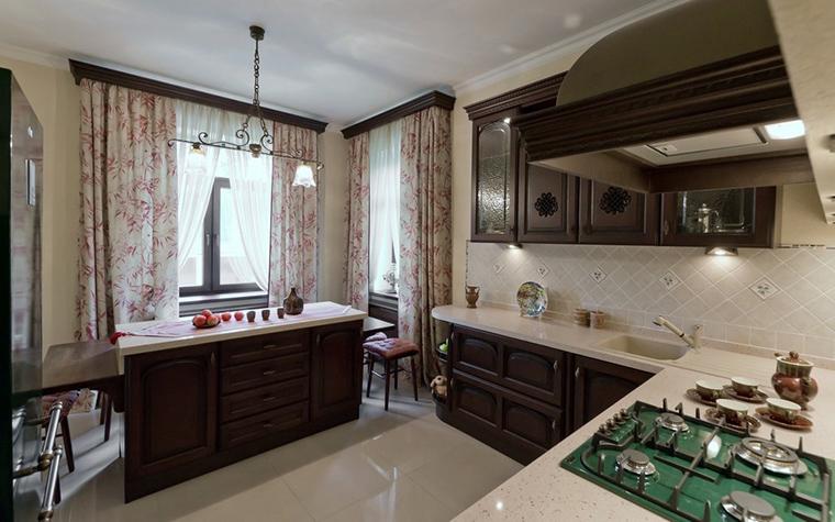 Фото № 21738 кухня  Загородный дом
