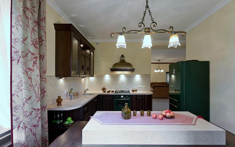 Фото № 21740 кухня  Загородный дом