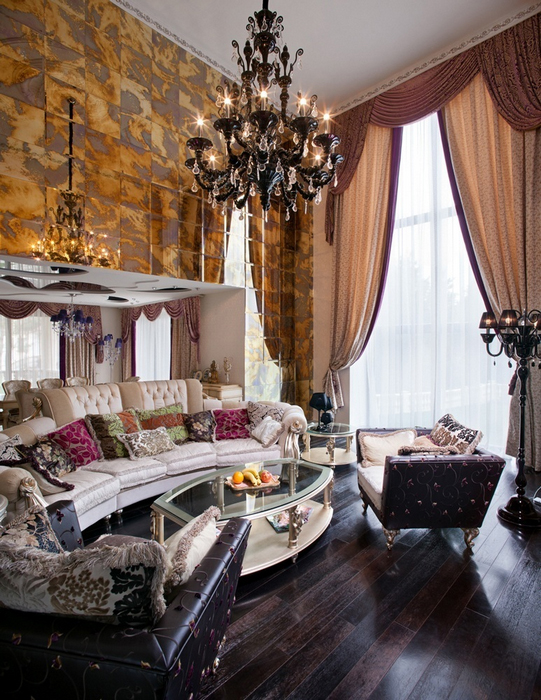 интерьер гостиной - фото № 21998