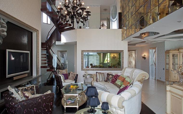 интерьер гостиной - фото № 23583