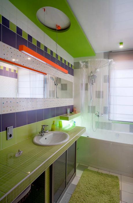Фото № 22055 ванная  Загородный дом