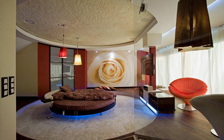 Фото № 22033 спальня  Загородный дом