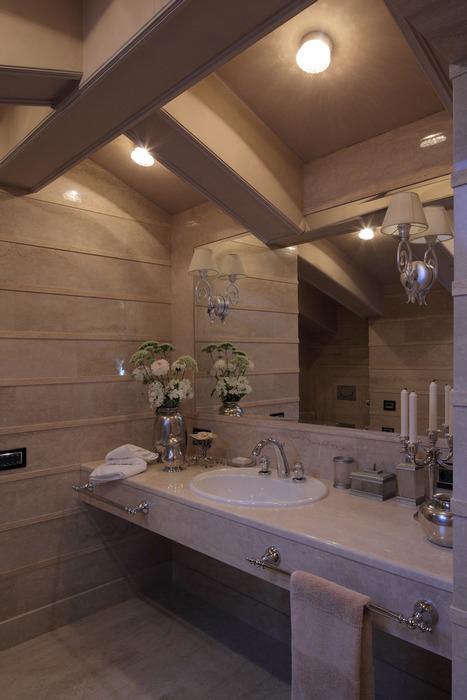 Фото № 22085 ванная  Загородный дом