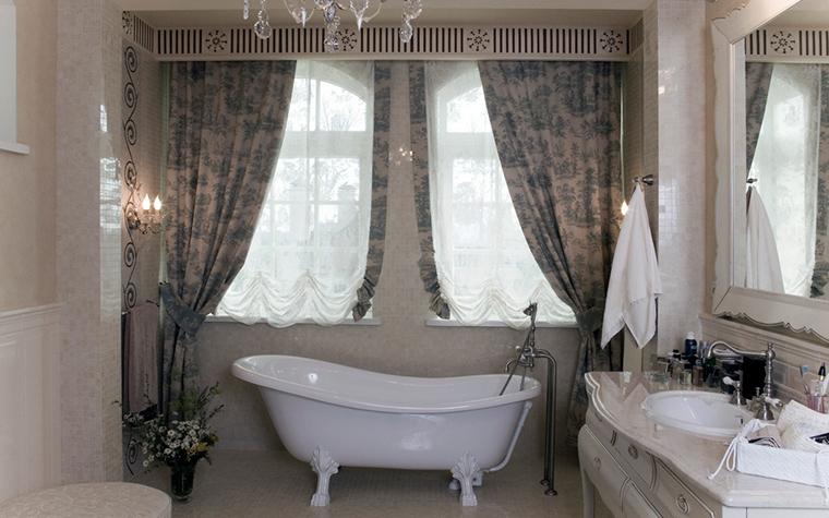 Загородный дом. ванная из проекта , фото №22099