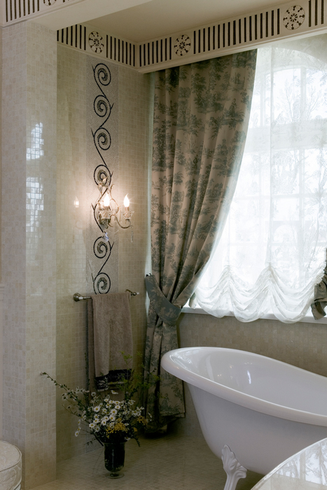 Загородный дом. ванная из проекта , фото №22100