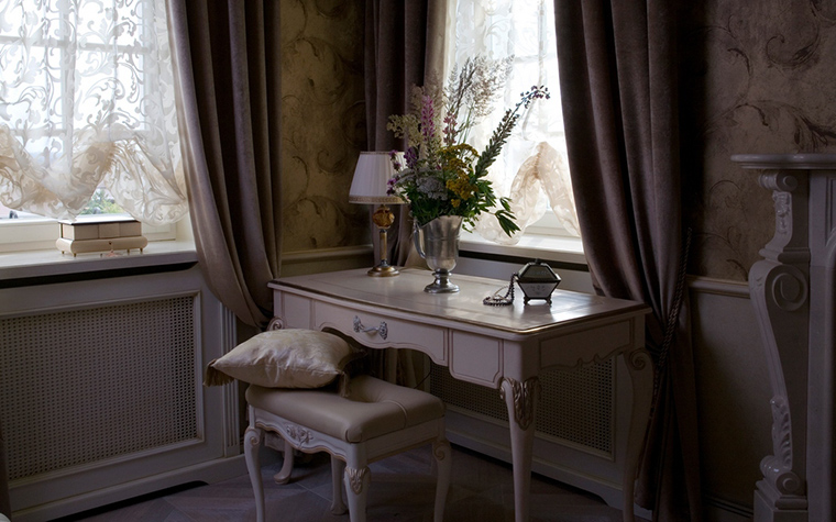 интерьер спальни - фото № 22096