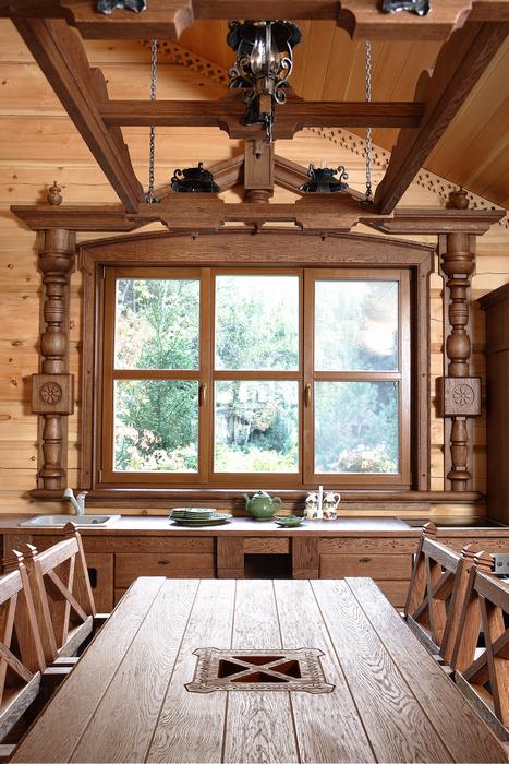 Фото № 22295 кухня  Загородный дом