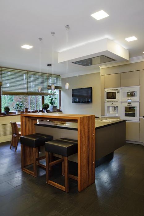 Фото № 22478 кухня  Загородный дом