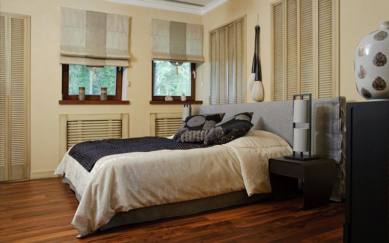Фото № 22473 спальня  Загородный дом