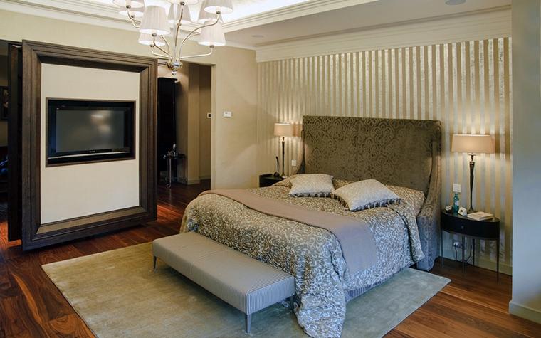 Фото № 22474 спальня  Загородный дом