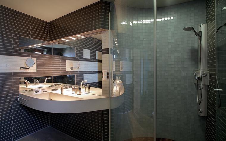 Загородный дом. ванная из проекта , фото №22601