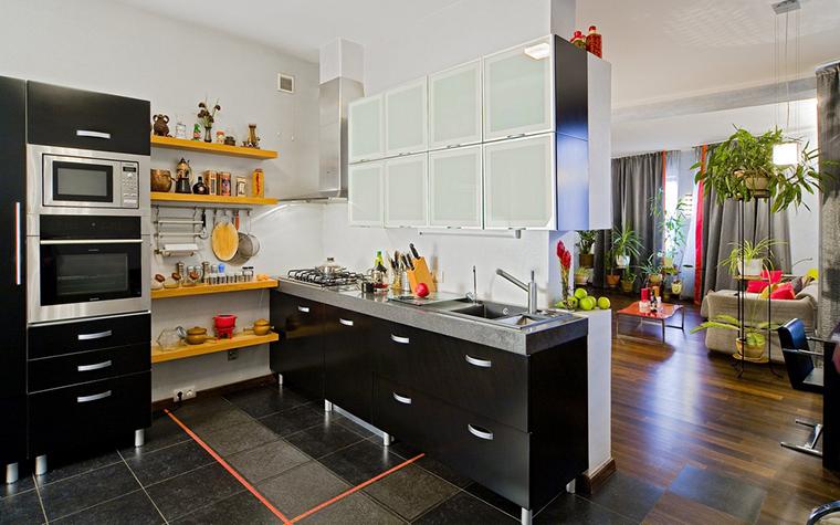 Загородный дом. кухня из проекта , фото №22599