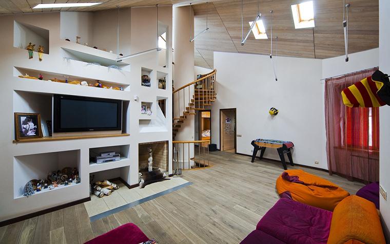 Загородный дом. гостиная из проекта , фото №22592