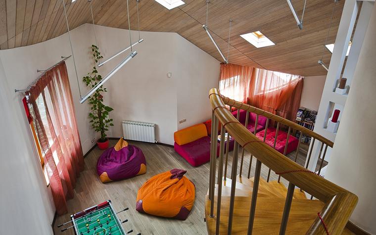 Загородный дом. гостиная из проекта , фото №22594