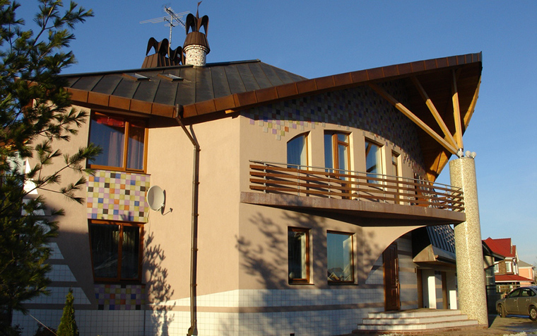 Загородный дом. фасад из проекта , фото №22614